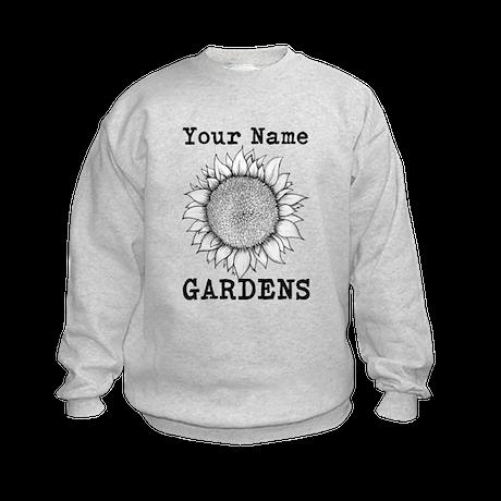 Custom Garden Kids Sweatshirt