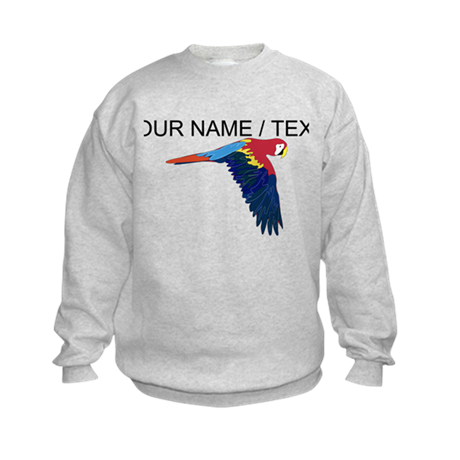 Custom Flying Parrot Sweatshirt