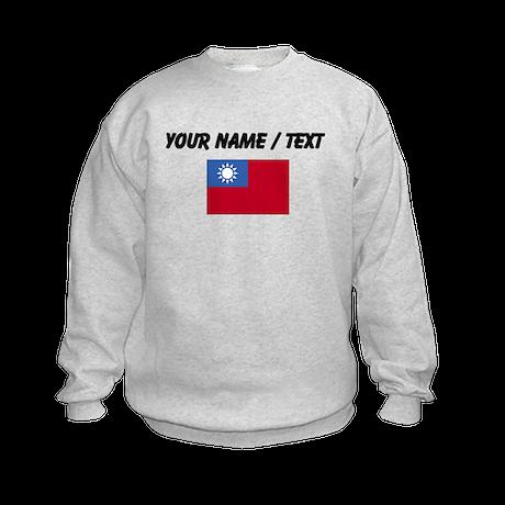 Custom Taiwan Flag Sweatshirt