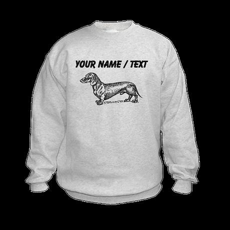 Custom Dachshund Sketch Sweatshirt