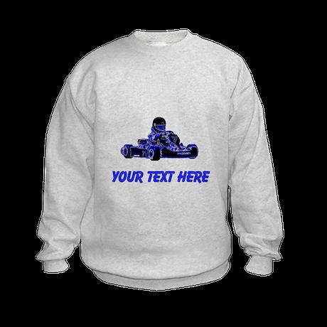 Custom Kart (Blue) Sweatshirt