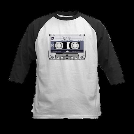 Customizable Cassette Tape - Kids Baseball Jersey