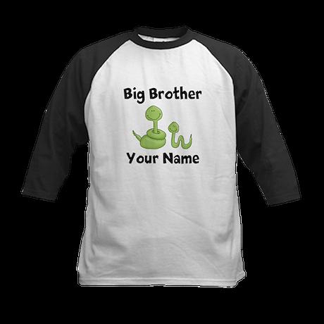 Big Brother Snake Kids Baseball Jersey
