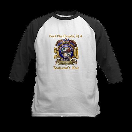 Front Print Personalized USS Enterprise Kids Baseb