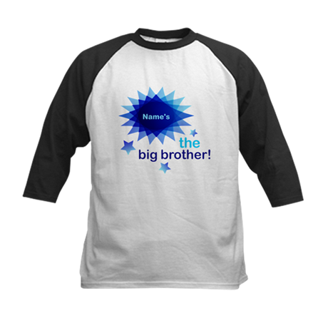 Custom Big Brother Kids Baseball Jersey