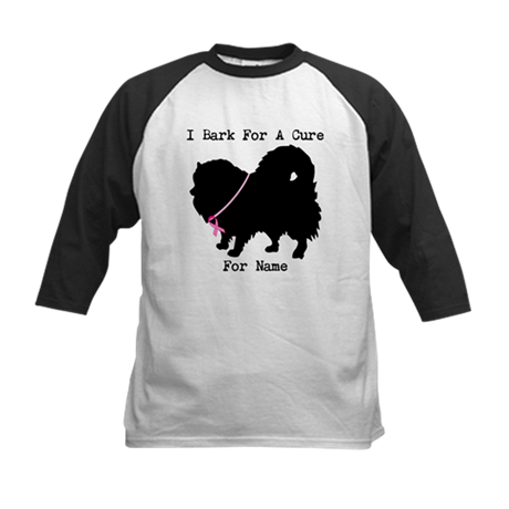 Pomeranian Personalizable I Bark For A Cure Kids B