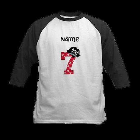 Pirate Seventh Birthday Baseball Jersey