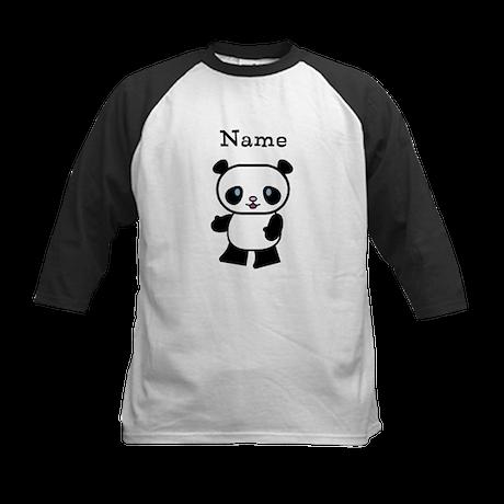 Personalized Panda Kids Shirt