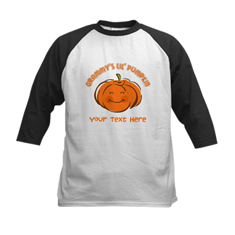 Grammy's Little Pumpkin Personalized Kids Baseball