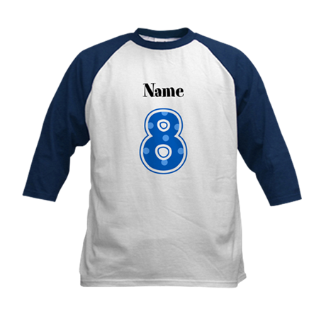 Personalized 8 Kids Shirt