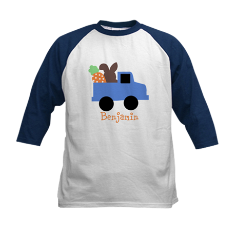 Easter time truck personalized Baseball Jersey