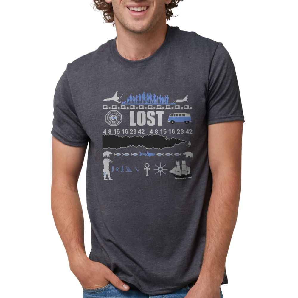 LOST Ungle Sweater Tri-Blend T-shirt
