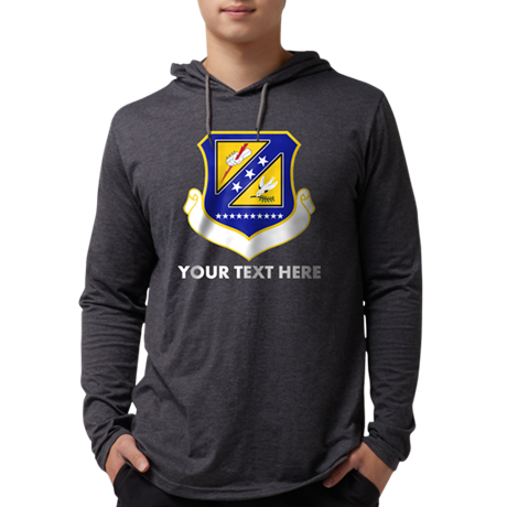 Personalized USAF 310th Space Wi Mens Hooded Shirt