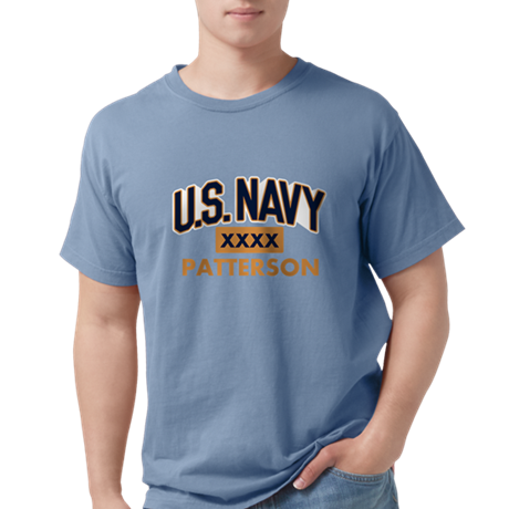 U.S. Navy Personalized Comfort Color Shirt