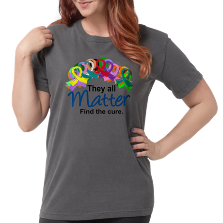Find the Cure Womens Comfort Color Shirt