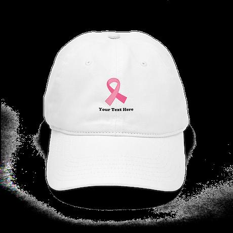 Breast Cancer Ribbon Cap