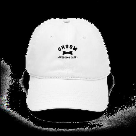 Groom (Your Wedding Date) Cap