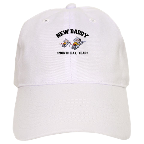 Personalized New Daddy Cap