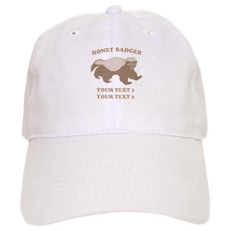Personalize Honey Badger Cap