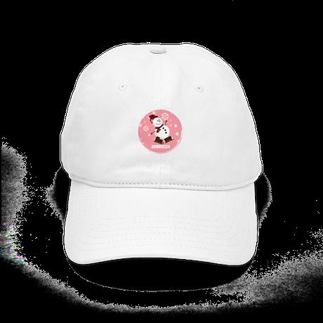 Cute Personalized Snowman Xmas gift Cap