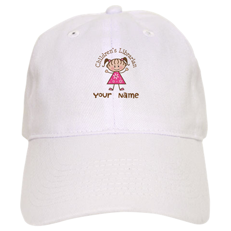 Personalized Children's Librarian Cap