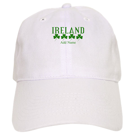 Lucky Irish Shamrocks Baseball Cap