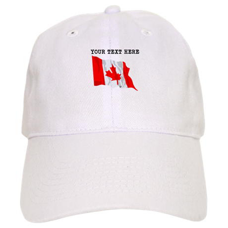 custom canada flag baseball hat by customworldflags