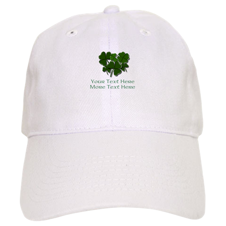 design your own st patricks day item baseball hat by