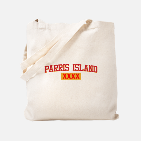 USMC Parris Island Tote Bag
