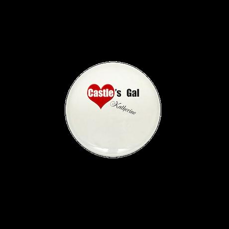 Personalizable Castle's Gal Mini Button (10 pack)
