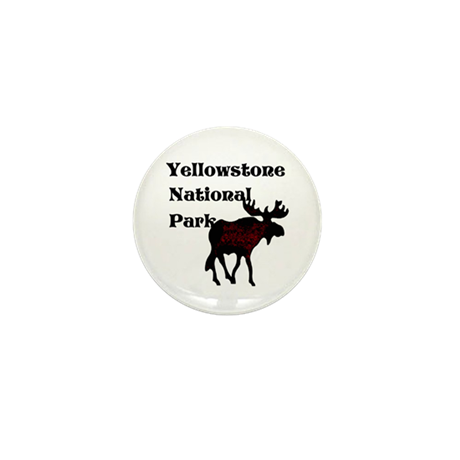 Personalized Moose Mini Button (10 pack)