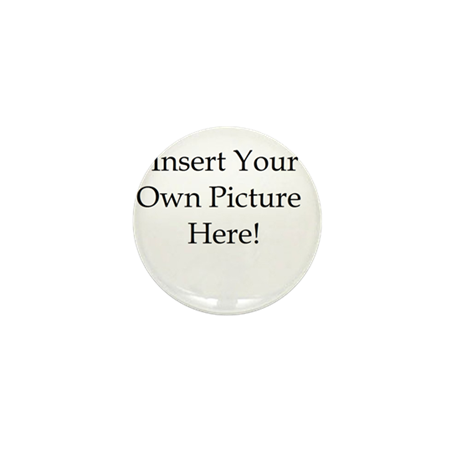 Upload your own picture Mini Button (100 pack)