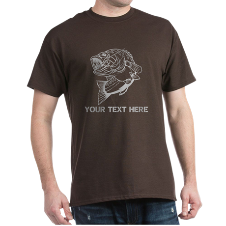 CUSTOMIZABLE BASS SHIRT Dark T-Shirt
