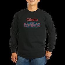 For Pres2_dark Long Sleeve T-Shirt