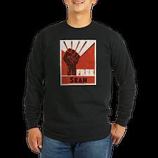 Free 2_dark Long Sleeve T-Shirt
