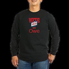 Vote Yes 1_dark Long Sleeve T-Shirt
