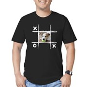 Custom Photo Men's Fitted T-Shirt (dark)