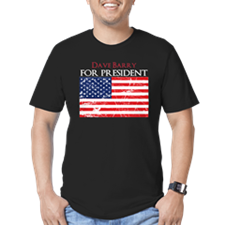 For President 4_dark T-Shirt