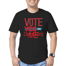 Vote for 8_dark T-Shirt
