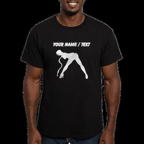 Custom Exotic Dancer Silhouette T-Shirt