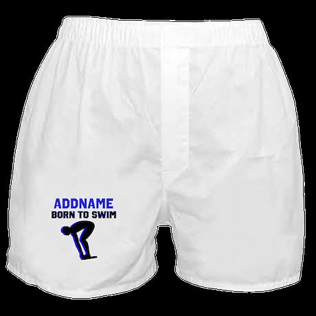SWIMMER CHAMP Boxer Shorts