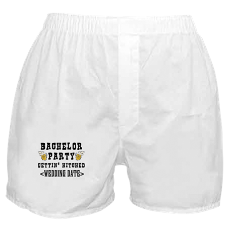 Bachelor Party (Wedding Date) Boxer Shorts