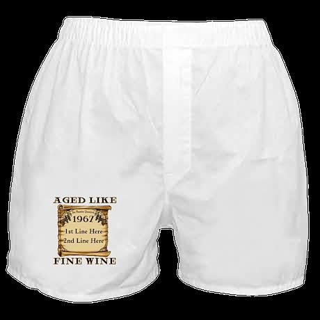 Fine Wine 1967 Boxer Shorts
