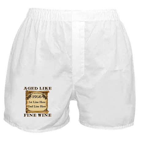 Fine Wine 1956 Boxer Shorts