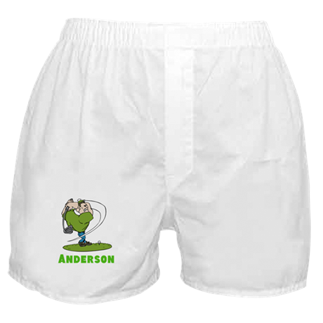 Personalized Golf Boxer Shorts