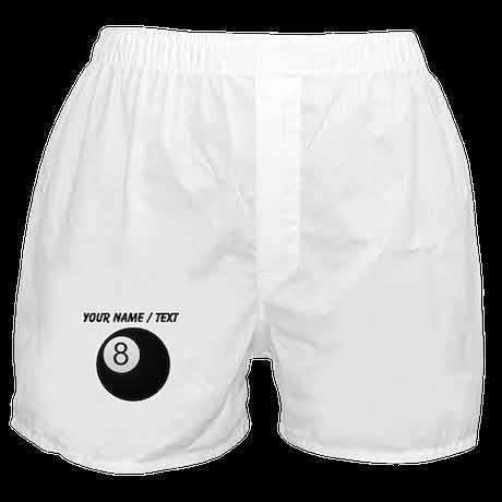 Custom Eight Ball Boxer Shorts