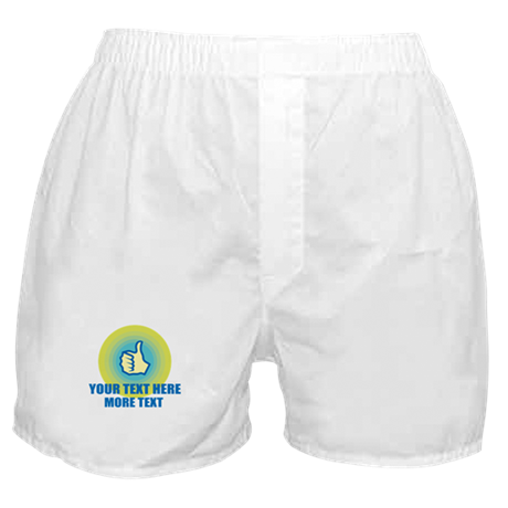 Thumbs Up | Personalized Boxer Shorts