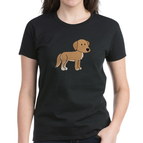 Cute Retriever Women's Dark T-Shirt