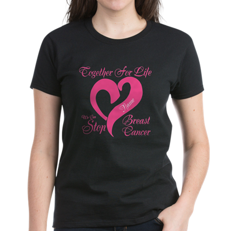 Personalize Front Women's Dark T-Shirt