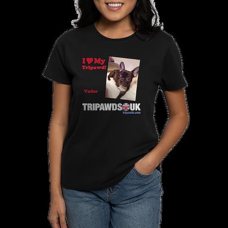 Personalized Tipawds UK Women's Dark T-Shirt